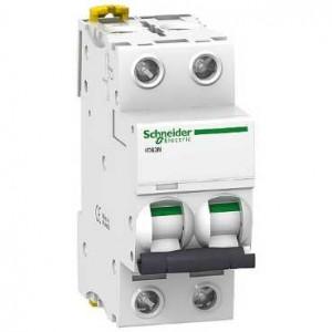 SCHNEIDER - A9F75220 - Disjoncteur Acti9 iC60N - 20 A - 2P - Courbe D - PdC 10-20 kA