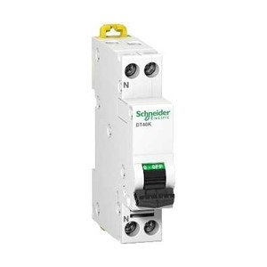 SCHNEIDER - A9N21377 - Disjoncteur Prodis DT40N - 20A 1P+N - Courbe D - PdC 10kA