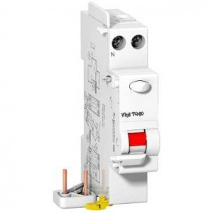 SCHNEIDER - A9N21484 - Bloc différentiel Prodis Vigi TG40 - 1P+N - 25A - 30mA - Type A Si
