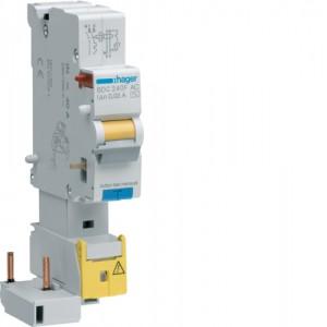 HAGER - BDH225F - Interrupteur différentiel ID - 25A - 1P+N - 30 mA - Type A Hi