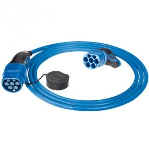 MENNEKES - MEN22T2T2 - Câble de recharge pour bornes T2/T2 - Mode 3 - 22 kW