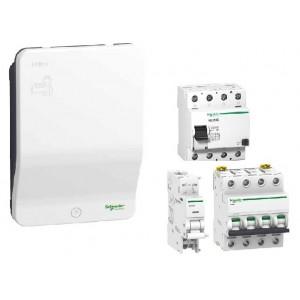 Pack Borne SCHNEIDER - EVLink - EVH2S11P04K - 11 kW + Protections électriques 11 kW