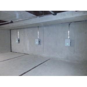 Installation de six bornes HAGER réf. XEV201 au parking de Montpellier St Roch, dans le 34 (Professionnel).