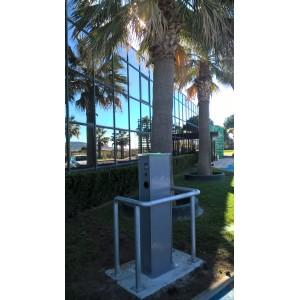 Installation de 13 bornes de recharge HAGER et SOBEM-SCAME pour THAU AGGLO, à Frontignan dans le 34 (Collectivité).