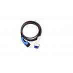 EVChargeKing - EVCK22T3T25M - Câble de recharge pour bornes T3/T2 - Mode 3 - 22kW