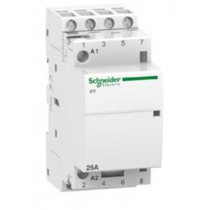 SCHNEIDER - A9C24834 - Contacteur iCT - 25A - 4 NO - 230V