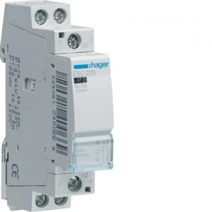 HAGER - ESC225 - Contacteur - 25A - 2 NO - 230V