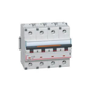 LEGRAND - LEG409852 - Disjoncteur DX3 - 63A - 4P - Courbe D - PdC 25 kA