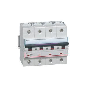 LEGRAND - LEG410232 - Disjoncteur DX3 - 63A - 4P - Courbe D - PdC 50 kA