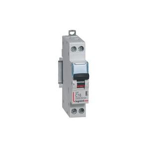 LEGRAND - LEG407702 - Disjoncteur DX3 - 1P+N - 25 A - Courbe C - PdC 10 kA