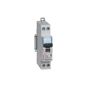 LEGRAND - LEG407704 - Disjoncteur DX3 - 1P+N - 40 A - Courbe C - PdC 10 kA