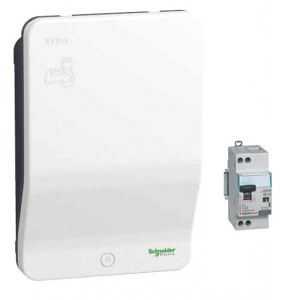 Pack SCHNEIDER - EVLink - EVH2S3P04K - 3.7 kW + Protections électriques 3.7 kW