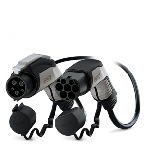 PHOENIX-CONTACT - PHO7T2T15 - Câble de recharge T2/T1 - 7 kW - 5m
