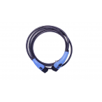 EVChargeKing - EVCK22T2T2TES4M - Câble de recharge pour bornes T2/T2 - Mode 3 - 22kW