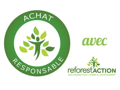 Plantez un arbre avec Eco-Motion SAS et Reforest'Action...